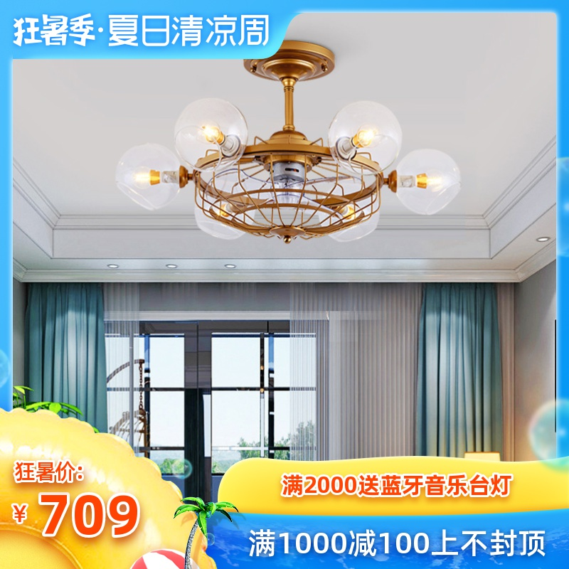 吊灯个性 卧室