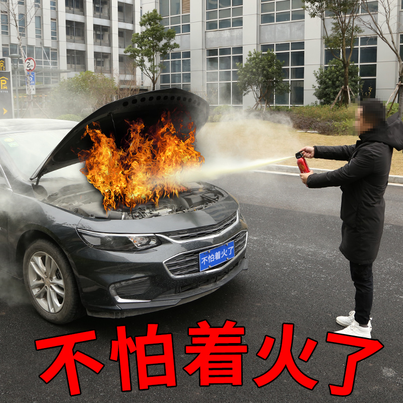车载灭火器年检车用干粉私家车小型便携汽车家用小车消防器材轿车