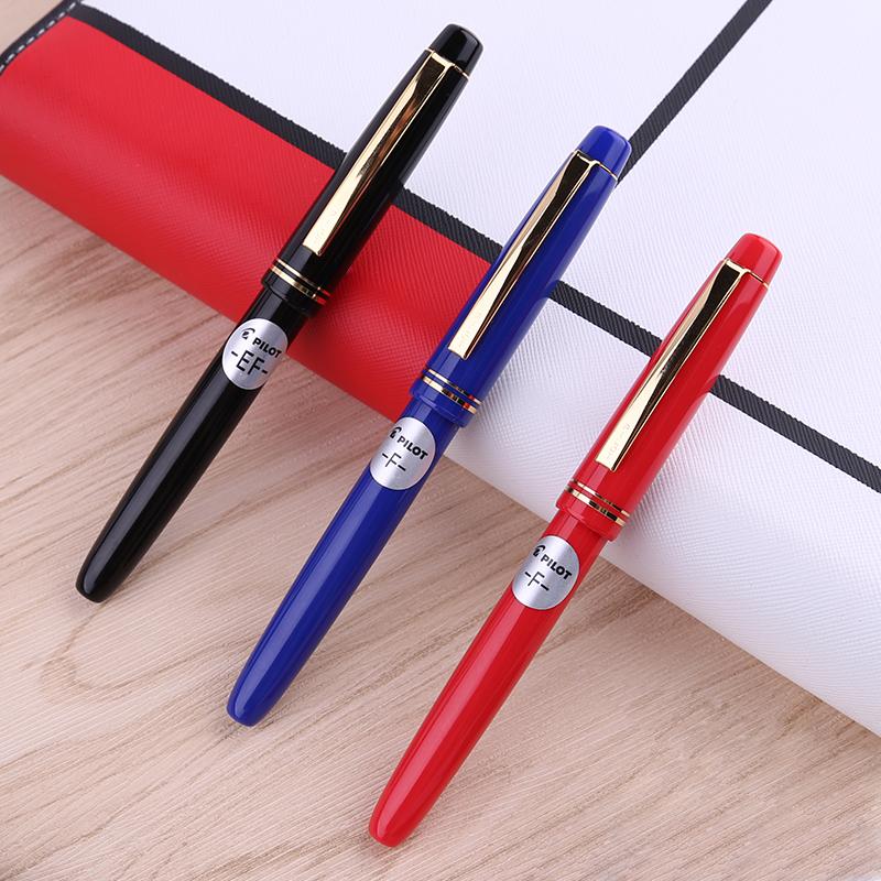 日本PILOT百乐FP-78G+钢笔 学生用练字钢笔成人商务办公成人练字书写墨囊钢笔套装礼盒