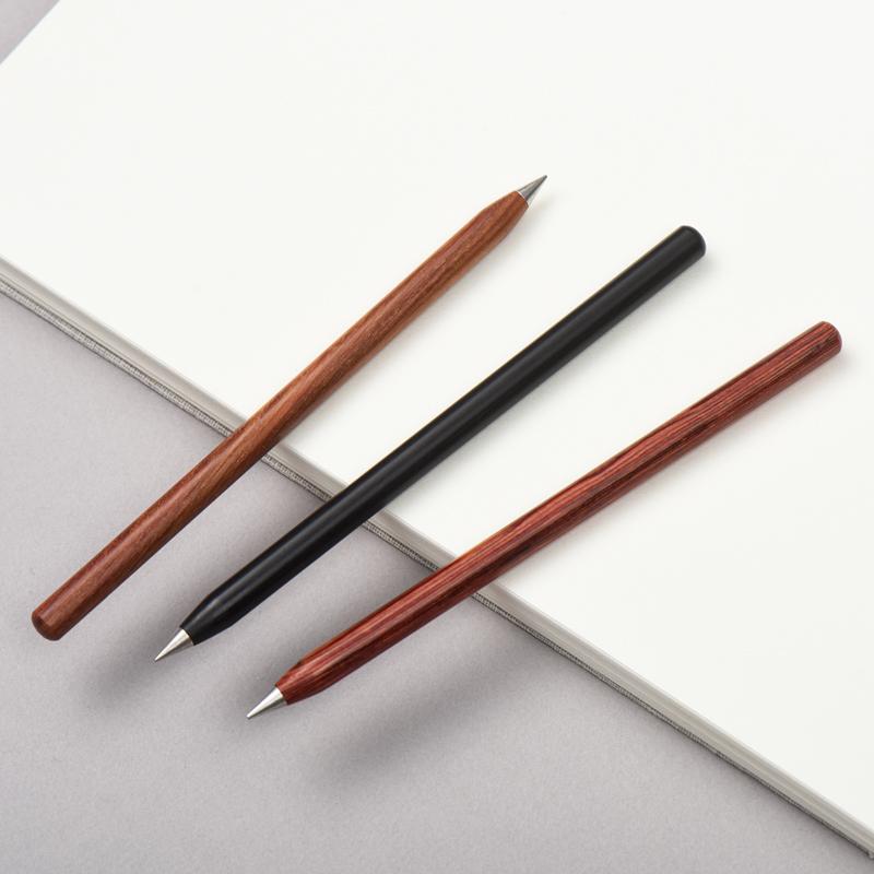 创意永恒笔不用墨水的金属铅笔 老不死钢笔素描绘画多功能笔学生免费刻字送老师个性高档公司商务礼品定制