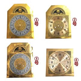 31天机械落地钟面客厅欧式复古立钟金属表盘座钟零件钟表通用配件