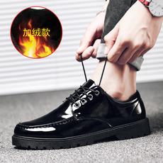 冬季社会小伙男鞋子韩版休闲小皮鞋男士潮流学生豆豆潮鞋百搭英伦
