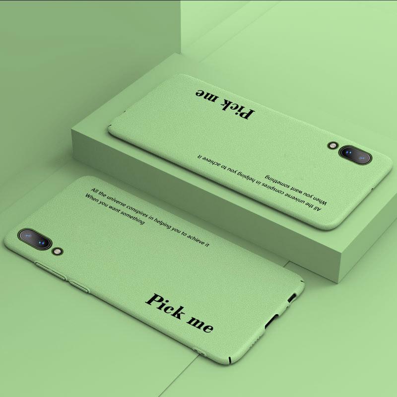 抹茶绿vivox23手机壳女款磨砂x23幻彩版男全包防摔情侣个性创意潮牌简约纯色网红抖音同款满10元减3元