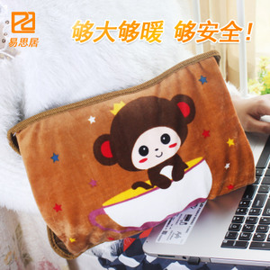 Rechargeable hot water bottle warmer hand warmer electric warm treasure warm bed baby explosion-proof warm foot bed sleeping with large electric wire type