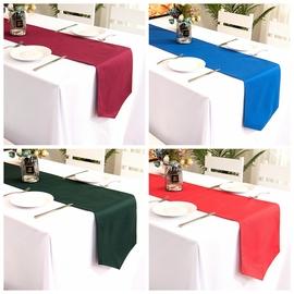 纯色ins桌旗简约会议聚会西餐厅长方形装饰桌布条桌巾桌旗可定制