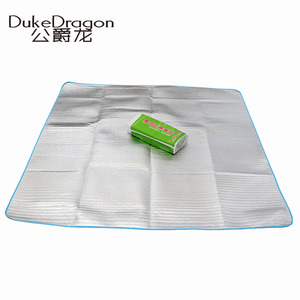 Outdoor supplies travel out aluminum foil carpet picnic portable folding cushion lawn outdoor moisture-proof mat floor mat