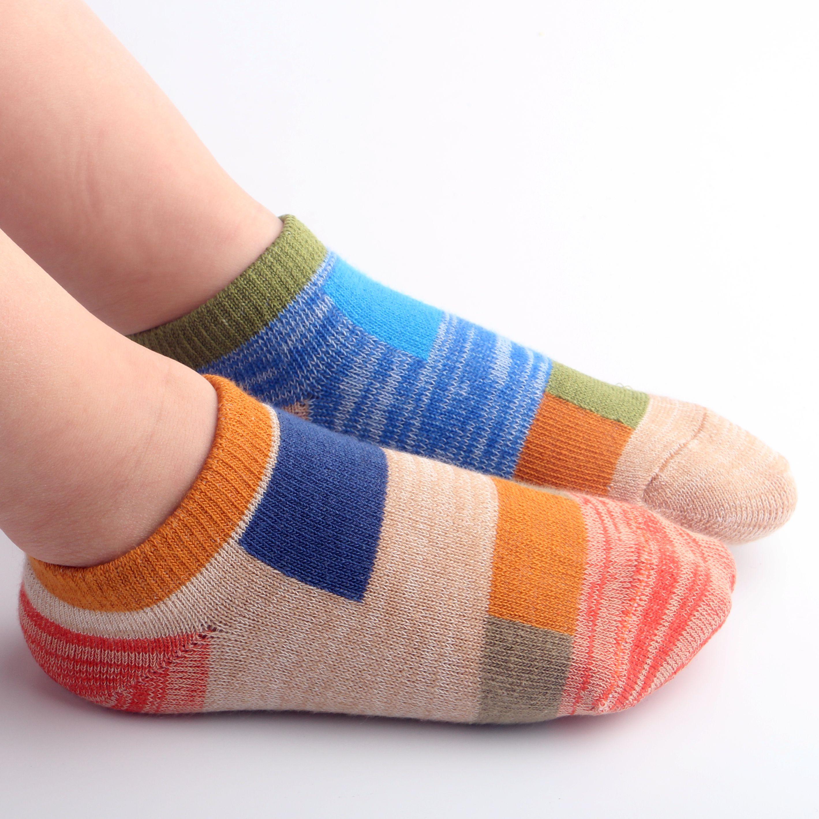 儿童船袜男童纯棉儿童袜子夏季薄款宝宝袜子浅口男孩3-5-7-9-12岁