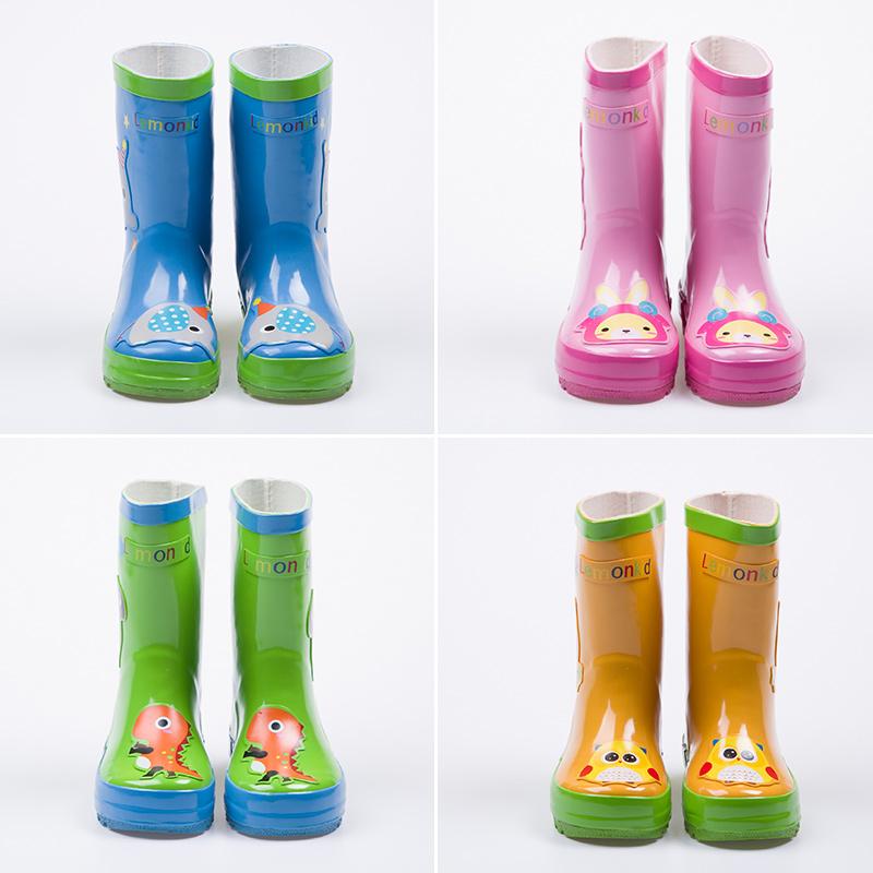 男童女童雨鞋防滑宝宝雨鞋儿童雨靴橡胶小孩幼儿儿童雨鞋清仓八