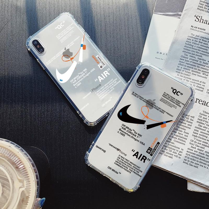 适用iphone7plus手机壳苹果11透明xr防摔软壳xsmax潮牌6sp创意ins