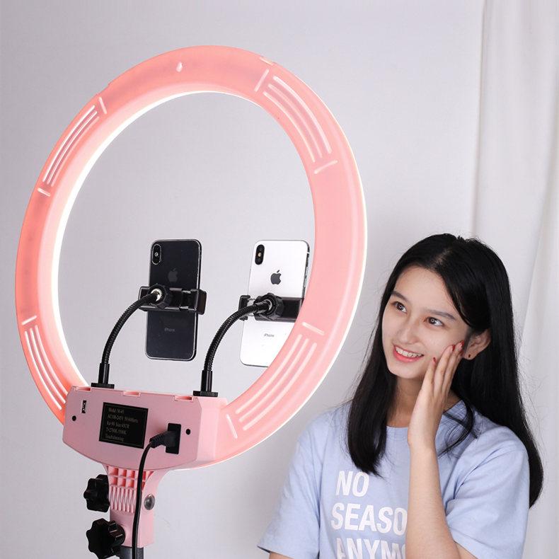 手机直播补光灯主播 美颜 嫩肤高清网红多功能拍摄支架自拍拍照