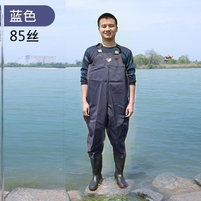 半身外卖防电衣服水裤水鞋连体全身冬季固定乡下雨裤防水下水挖藕