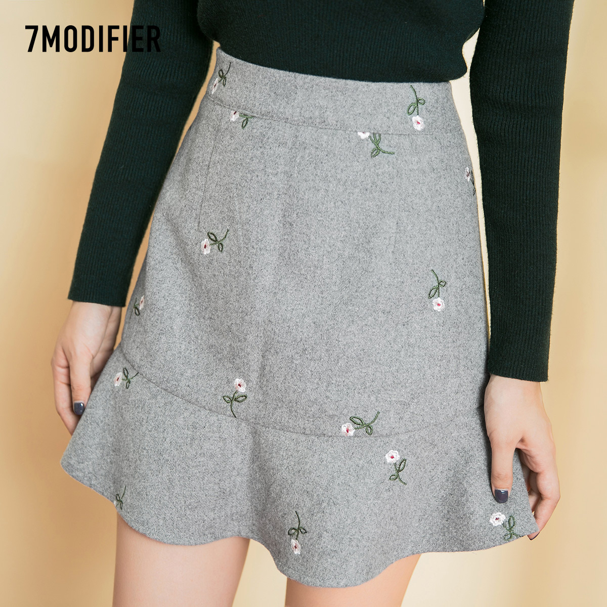 7.Modifier荷叶边裙价格,连衣裙质量评价