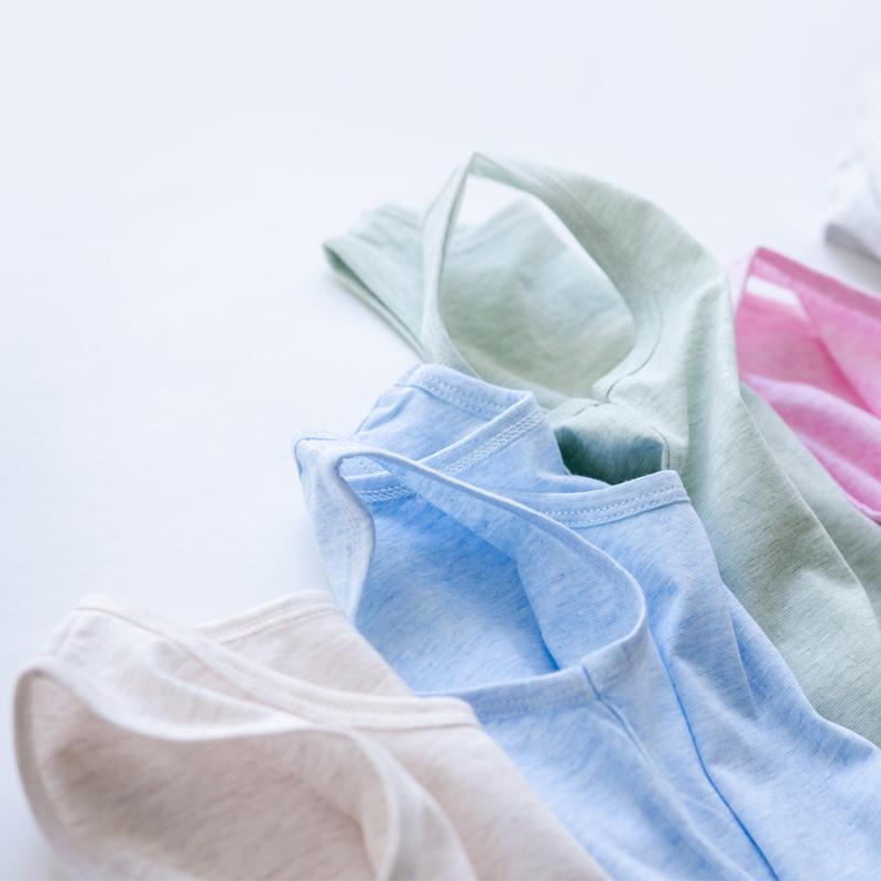 儿童彩棉背心男女童装宝宝纯棉背心夏季薄款背心吊带儿童背心彩棉