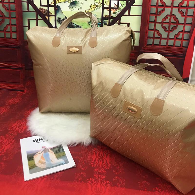 羽绒蚕丝被子收纳袋装衣服棉被子的袋子防潮整理袋幼儿园被子包装