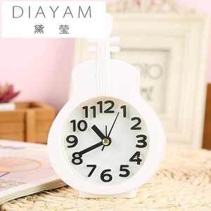 Home accessories motorcycle alarm decoration creative bedroom bedside table alarm clock wind birthday gift small table clock