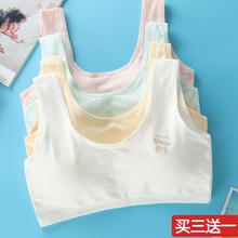 少女发育期内衣dq4胸初中高na胸大童(小)背心11-12-13-14-16岁