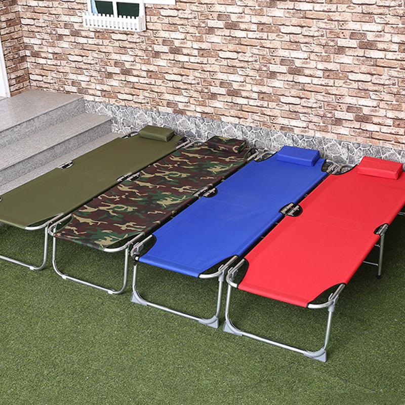 折叠床单人便携午休床办公室午睡床简易床医院陪护床儿童床行军床