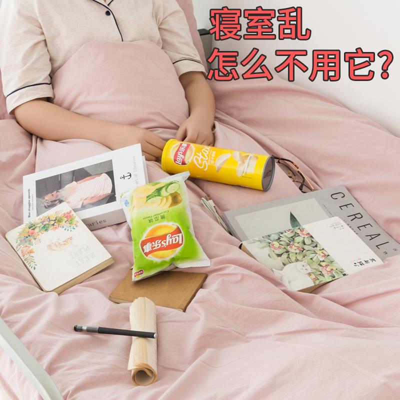 大学生宿舍必备神器床边整理收纳架女寝室上铺收纳挂篮床头置物架