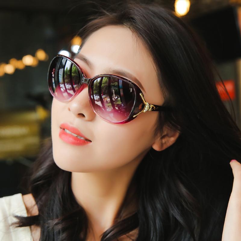 偏光2019新款太阳眼镜圆脸墨镜女防紫外线街拍韩版潮ins女士眼睛