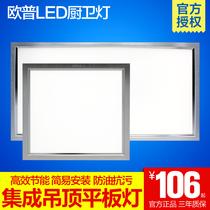 照明模塊30cm30陽台衛生間平板燈LED集成吊頂
