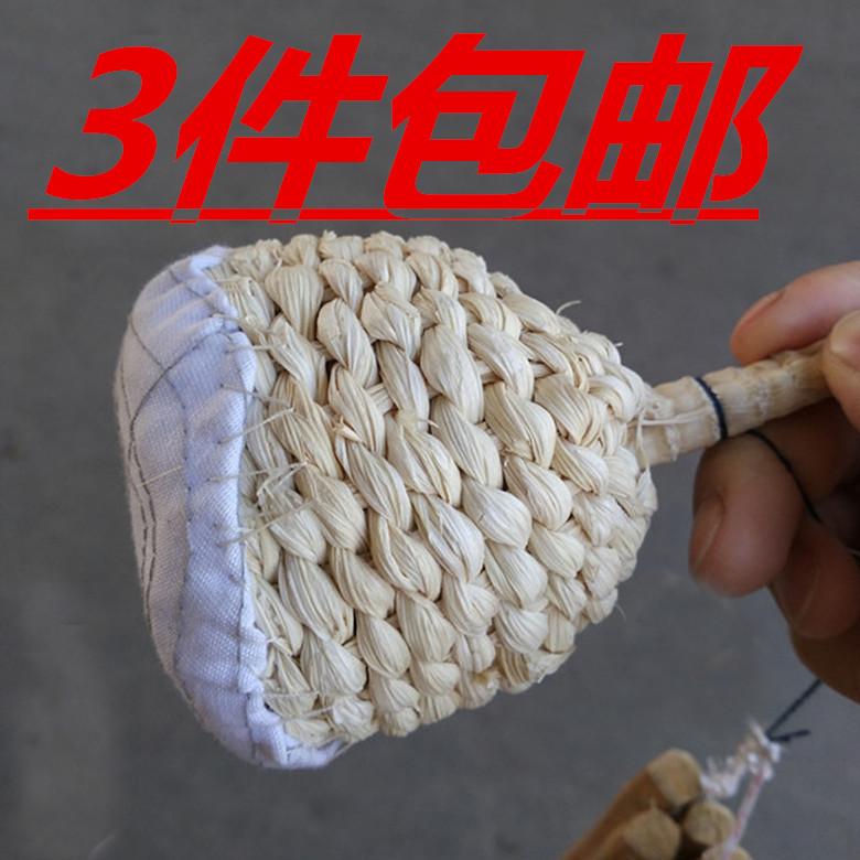 包邮煎饼锅擦油工具油擦子摊煎饼果子工具油絮子装饰道具夹子竹夹