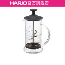 【旗舰店】HARIO耐热玻璃过滤壶法压过滤杯滤压式咖啡法压壶CPSS
