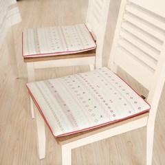 波西米亚椅垫餐桌椅垫布艺田园风居家椅垫加厚可拆洗椅垫防滑坐垫