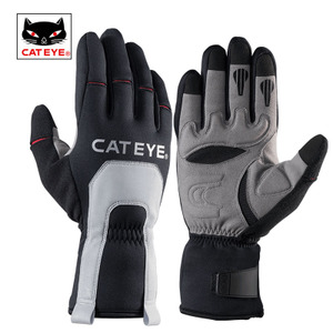 CATEYE cat eye riding gloves all men and women autumn and winter motorcycle road mountain bike gloves long fingers