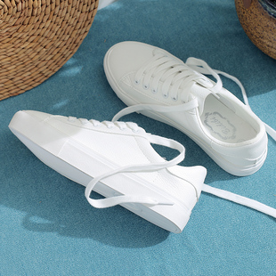 小白鞋女2020年新款秋季女鞋韩版百搭基础学生潮休闲鞋子帆布板鞋图片