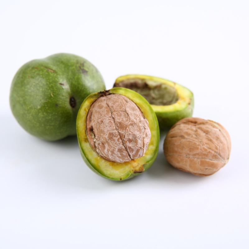 青皮核桃新鲜核桃新鲜带绿皮湿核桃去青皮核桃鲜核桃5斤9斤