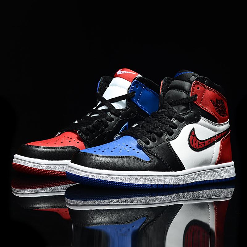 耐尅官网正品AJ1篮球鞋4芝加哥小闪电鸳鸯怒吼天尊空军一号男板鞋
