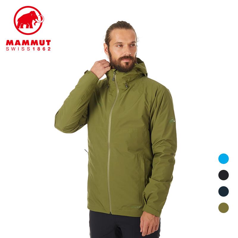 MAMMUT猛犸象Convey硬壳冲锋衣男士户外三合一防水羽绒夹克外套