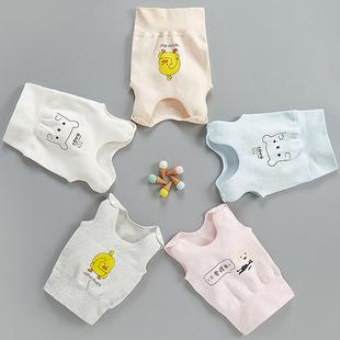 婴儿背心2春秋纯棉3个月护肚冬季6打底男女宝宝小童1岁初生儿马甲图片