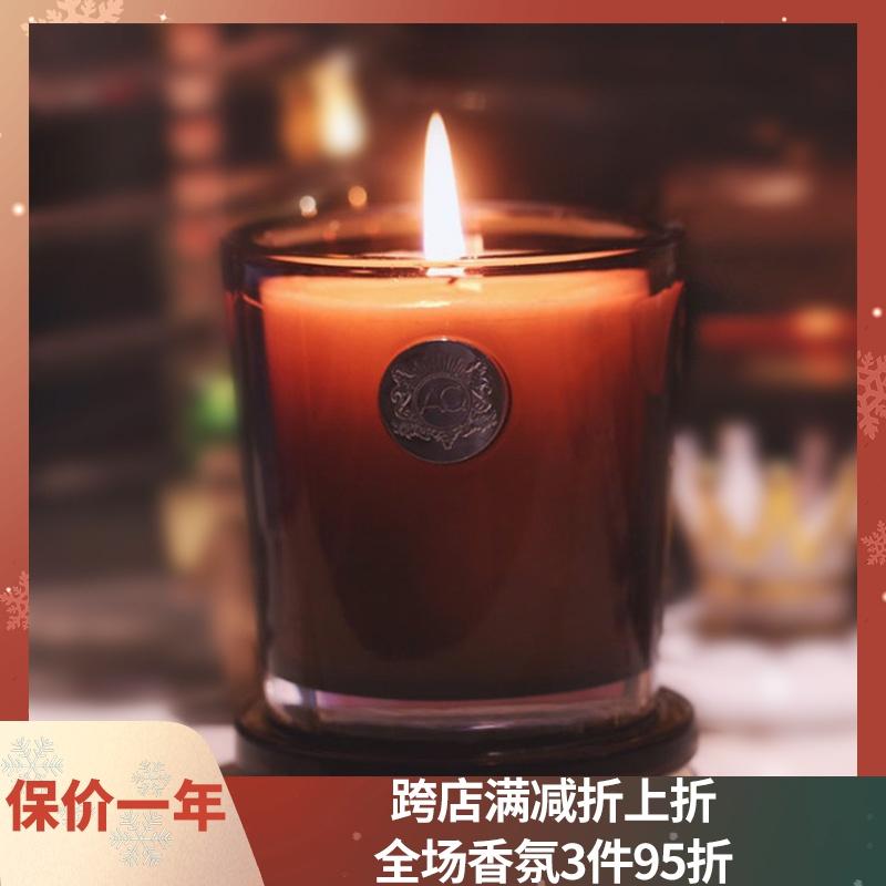 美国进口Aquiesse香薰蜡烛 AQ无烟精油植物大豆蜡香氛大小蜡烛杯