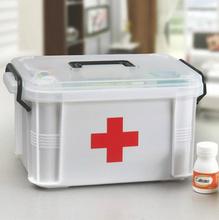 家用药箱家庭药品箱应ar7救收纳便os诊大容量医药箱带药全套