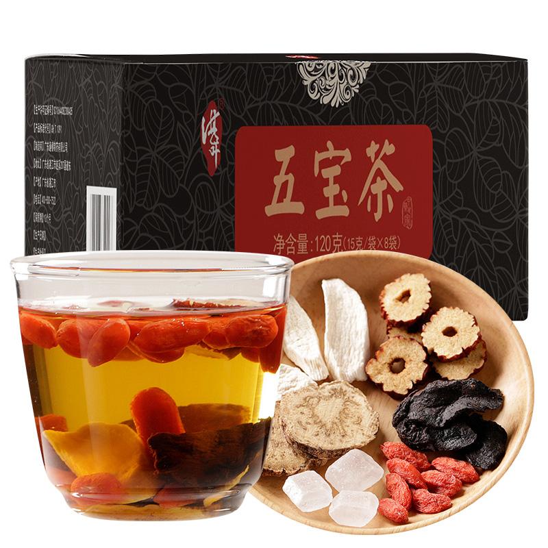 <span>白菜!</span>天猫商城:福东海 玛咖山药红枣枸杞黄精 五宝茶120g