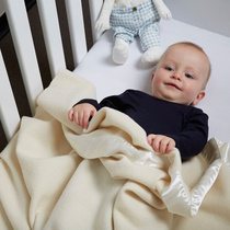 SWANNDRI新西兰进口婴儿羊毛盖毯四季通用儿童居家毛毯外出抱毯