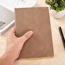 a5加厚笔记本文具羊巴皮记事本创意商务办公日记本定做工作定制本