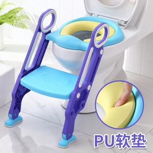Child toilet girl baby kid boy sitting washer girl toilet ladder chair folding staircase toilet stand