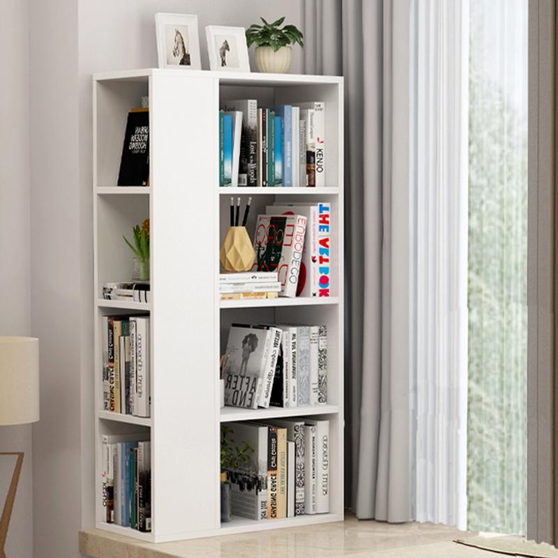 创意飘窗书架小书柜卧室窗台收纳置物架落地简易实木家用落地儿童