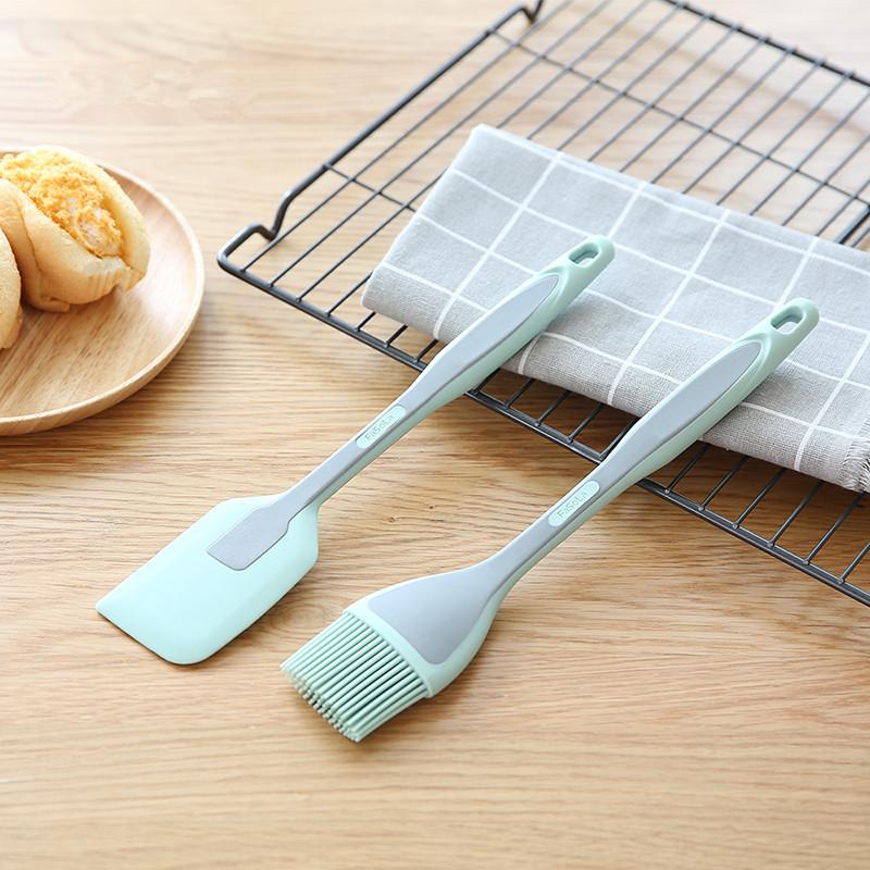 硅胶刷子刮刀铲子烘焙厨房用食品刷油刷子煎饼食用耐高温包邮家用
