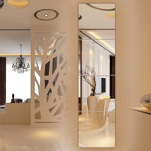 全身镜组合穿衣镜长壁挂墙粘贴落地镜衣柜拼接镜宿舍试衣镜子贴墙