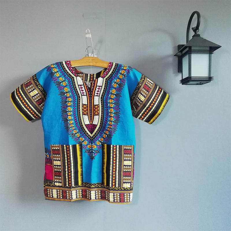 非洲鼓舞蹈演出服特色工作服泰国东南亚风情印花表演服装001