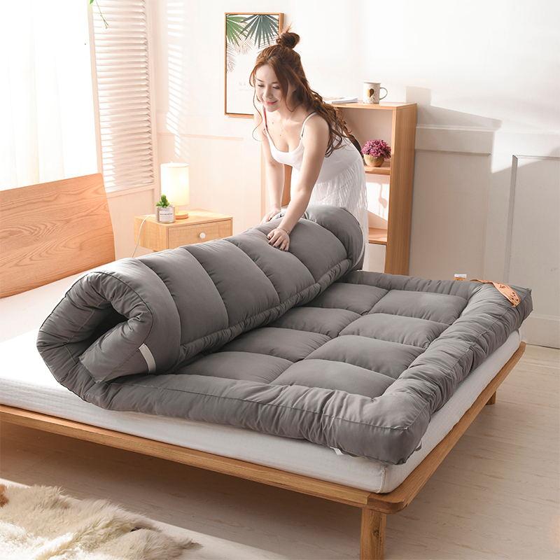 加厚床垫1.8m床褥子1.5m双人垫被褥学生宿舍单人0.9米1.2m榻榻米