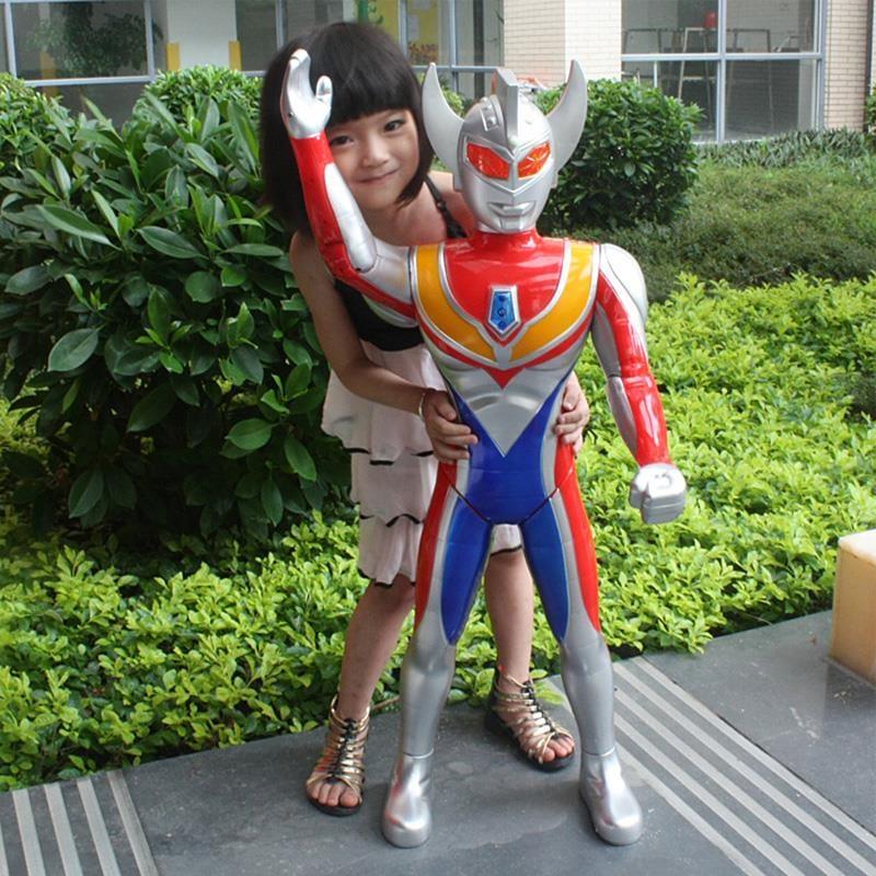 超大号儿童银河奥特曼玩具戴拿赛罗奥特曼变身器超人男孩变形套装