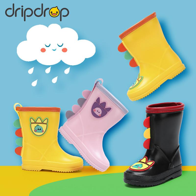 儿童雨鞋女童小孩水鞋幼儿小童防滑水靴套鞋中大男童胶鞋宝宝雨靴