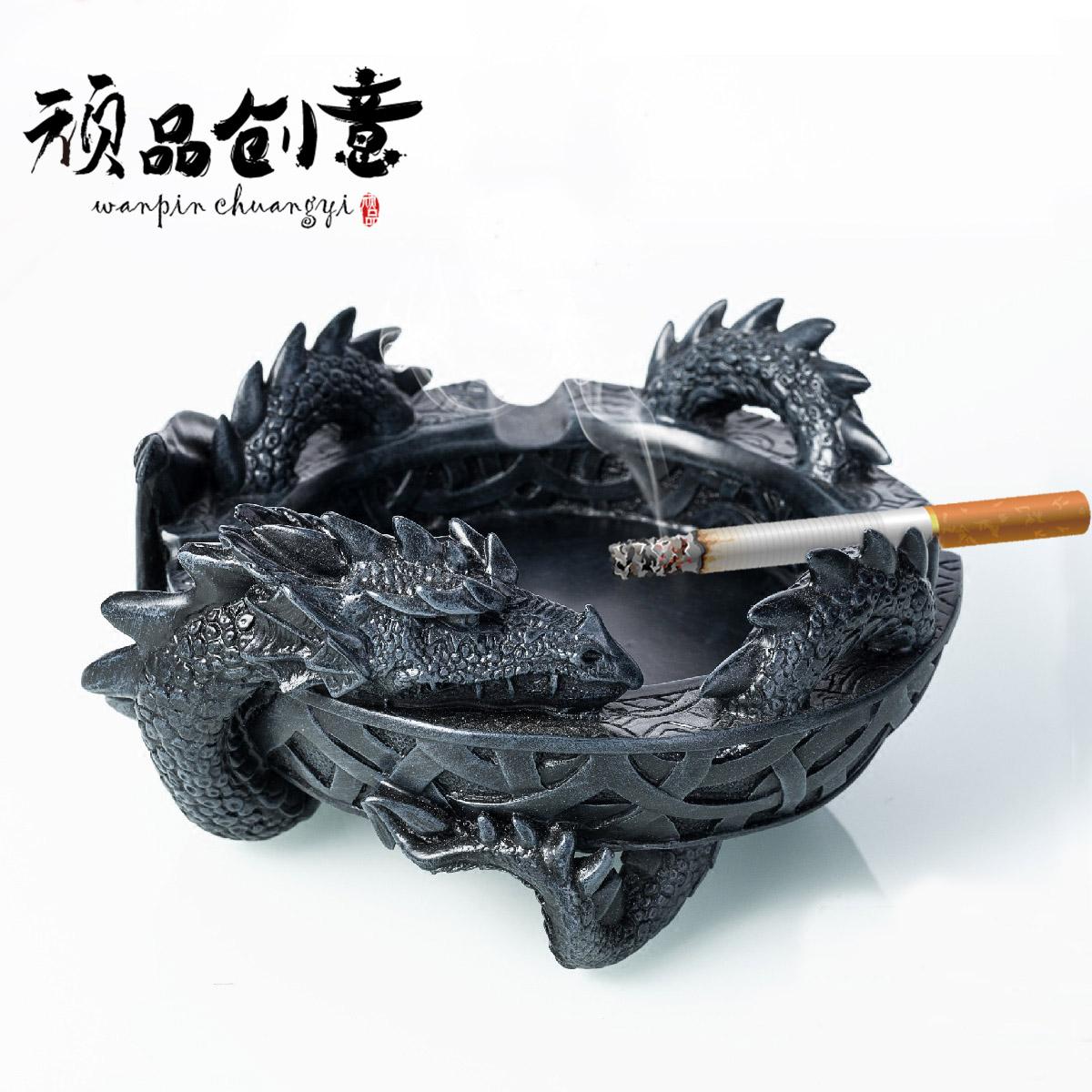 权利的游戏大号实用龙烟灰缸个性创意礼品送男友老爸时尚家居摆件
