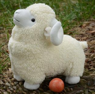生日布娃娃山羊公仔毛绒玩具羊绵羊玩偶羊羔礼物积木大号萌小宝贝青岛李沧早教荐女生女生图片