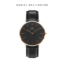 Daniel Wellington Sweden imports Europe and the United States watch DW watches men's simple new black dial
