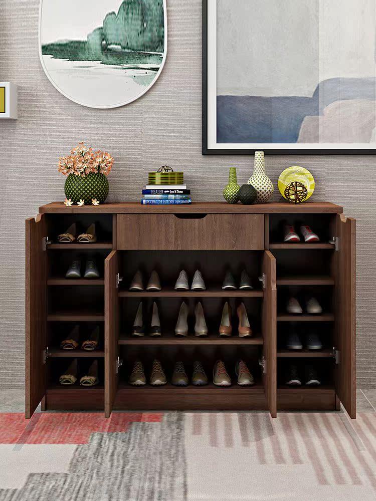 现代简约入户门口收纳鞋柜玄关柜家用大容量经济型进门阳台用北欧